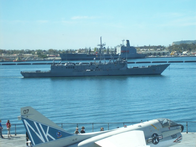 View from USS Midway Museum - San Diego CA