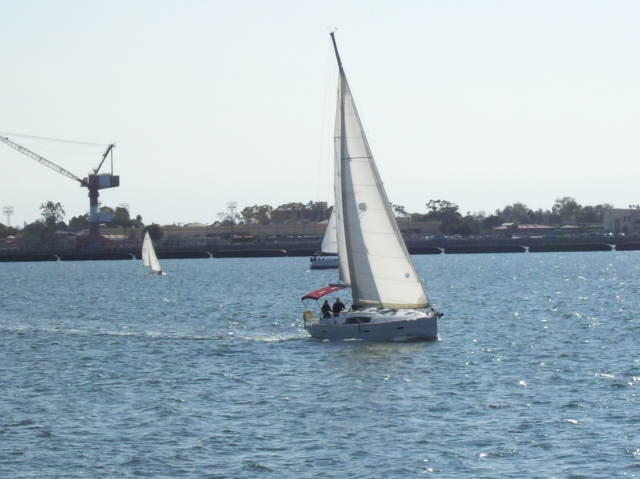 Sailing thru San Diego