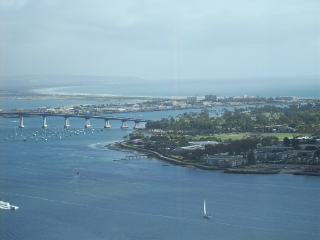 View of Coronado Bridge - San Diego, CA