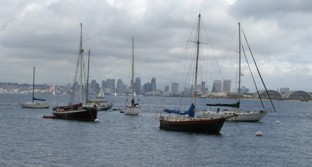 Sailboats - San Diego, CA